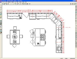 Cabnetware Drafter - Cabinet estimating software